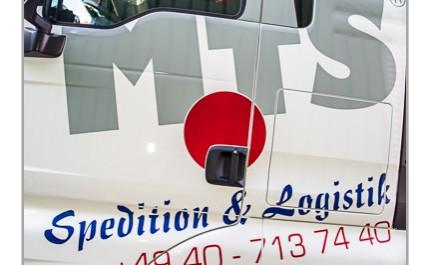 LKW Tür MTS Spedition und Logistik Hamburg
